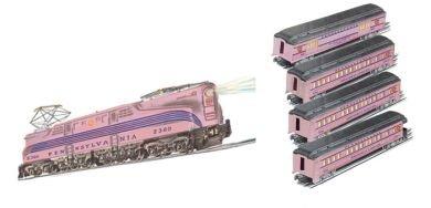 GG-1 ガールズ旅客セット  Bachmann Trains社