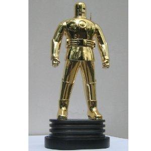 Iron Man (アイアンマン) The Original Gold Chrome Exclusive Bowen Designs Statue フィギュア おもち