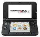 北米版 Nintendo 3DS XL - Red/Black レッド&ブラック  ※国内版3DSソフト動作不可