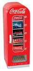 COCA-COLAコカ・コーラレトロ調コカコーラ自動販売機型冷蔵庫レトロベンディングマシーンCVF18-G1