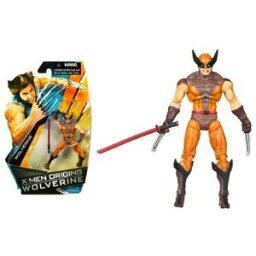 X-Men Origins Wolverine - Comic ブック Series - Wolverine Action フィギュア Brown Suit