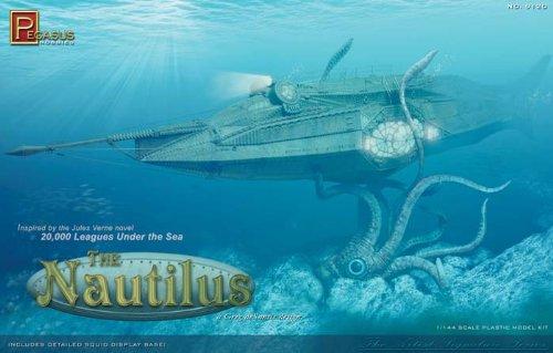 ノーチラス号 プラモデル 海底2万マイル 1/144模型画像