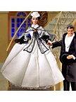 映画「風とともに去りぬ」スカーレット・オハラ・バービー(ブラック&ホワイトドレス)