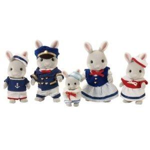 おもちゃ, ロボットのおもちゃ Sylvanian Families Celebration Sea Breeze Rabbit Family