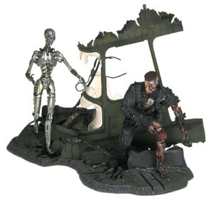 Mcfarlane Terminator ターミネーター 3: Rise Of The Machines The End Battle Boxed Set フィギュア ダ