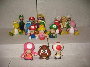 【ビーピー】Super Mario スーパーマリオ Exclusive Figure 17pcs Set フィギュア 人形 おもちゃ