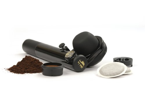 Handpresso Wild Hybrid Espresso Maker for Ground Coffee and Pods