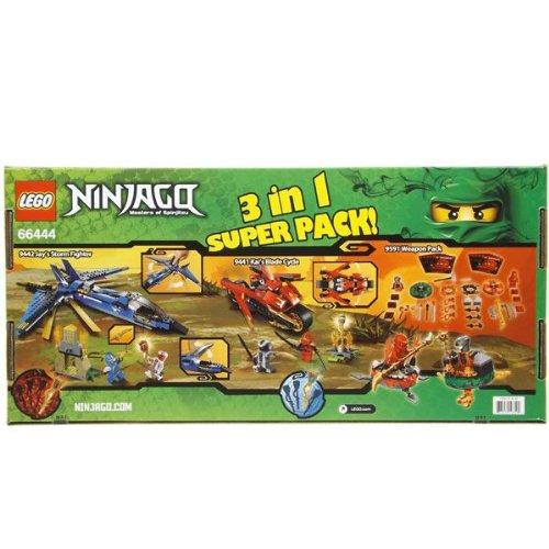 LEGO レゴ ニンジャゴー マスターオブスピンジツ 3イン1 スーパーパック#66444