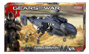 Erector (エレクター) Gears of War King Raven Construction Set