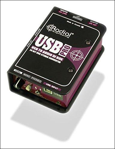 DAW・DTM・レコーダー, ダイレクトボックス Radial USB-PRO USB