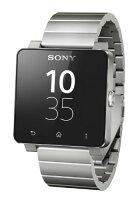 Sonysmartwatch2sw2ソニースマートウォッチ2silvermetalbreathシルバーメタルブレス