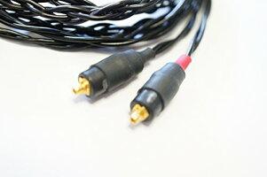 WhiplashAudioTWCUNONOMShure交換用アップグレード・ケーブルBlackSE846,SE535,SE425,SE315,
