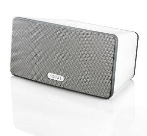 ワイヤレススピーカー SONOS PLAY:3 Wireless Speaker 白(大)