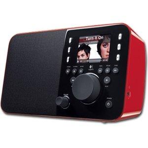 ロジテック Logitech Squeezebox Radio (Red) Wi-fi式インターネットラジオ