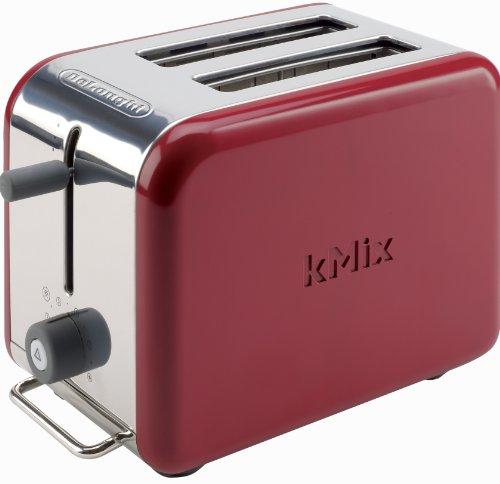 デロンギDeLonghi Kmix 2-Slice Toaster, Red