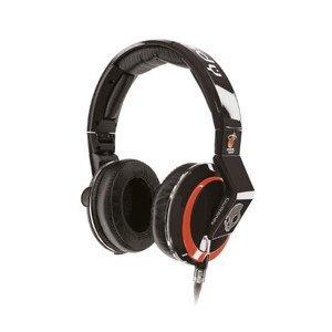PA機器, モニターヘッドホン Skullcandy Mix Master Headphones with DJ Capabilities and 3 Button Mic, NBA Miami Heat