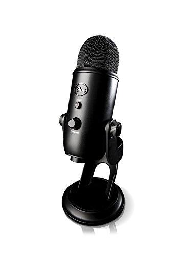 DAW・DTM・レコーダー, その他 Yeti USB Microphone USB Blue Microphones Blackout
