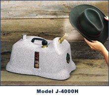 おしゃれな帽子を綺麗に保つ★J-4000H Hat Steamer ハットスチーマー Jiffy社 Gray:ワールドセレクトショップ