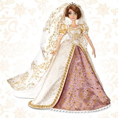 Disney ディズニー Rapunzel Wedding Doll - Limited Edition