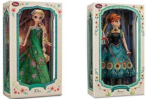輸入アナと雪の女王アナ雪ディズニージュニア Disney - Limited Edition Anna Doll and Elsa Doll Set Fr