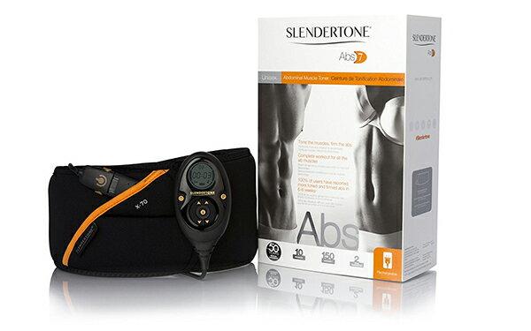 スレンダートーン Slendertone Abs7 腹筋ベルト EMS 男性/女性 兼用版 米国正規品 日本語説明書付き 上級者向き