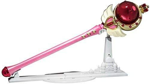 おもちゃ, その他 Bandai Tamashii Nations Proplica Cutie Moon Rod Sailor Moon R Action Figure