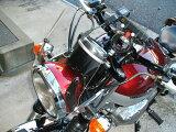 エストレア エストレヤ 汎用 ウインドスクリーン ミニカウル 風防 バイク用 クリア スモーク