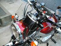 エストレアエストレヤ汎用ウインドスクリーンミニカウル風防バイク用クリアスモーク