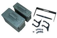 スーパーカブ110クロスカブ110アンモボックスパニアキットカスタムパーツリアボックスパニアケースサイドボックスサイドケース
