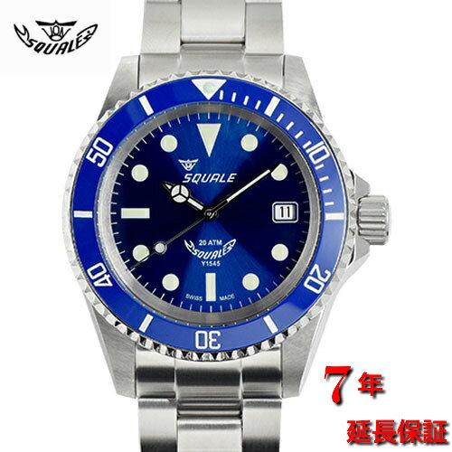 腕時計, メンズ腕時計 Squale20 ATMOS BLUERAY CERAMIC-1545-BR