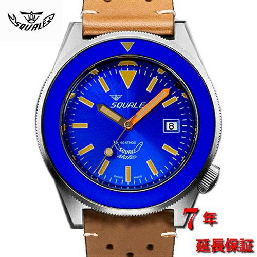 腕時計, メンズ腕時計 Squale60 ATMOS - BLU PURO