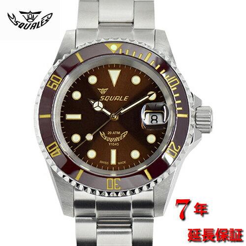 腕時計, メンズ腕時計 Squale1545-20 ATMOS ROOT BEER CERAMIC200M