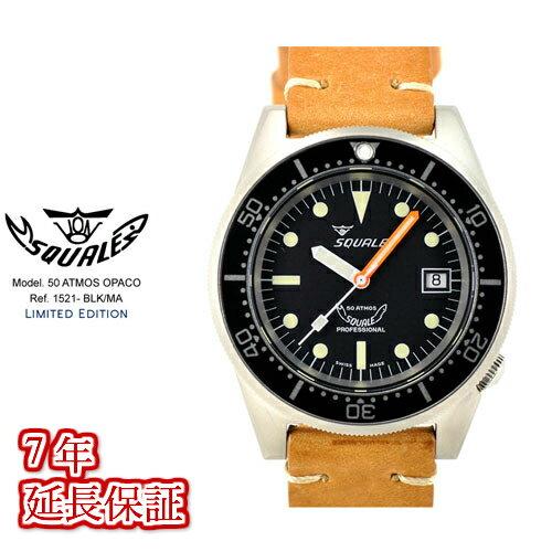腕時計, メンズ腕時計 Squale1521-BLK-MA500M
