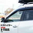 エクストレイル / X-TRAIL T32 / NT32 クリアブラック ドアバ...