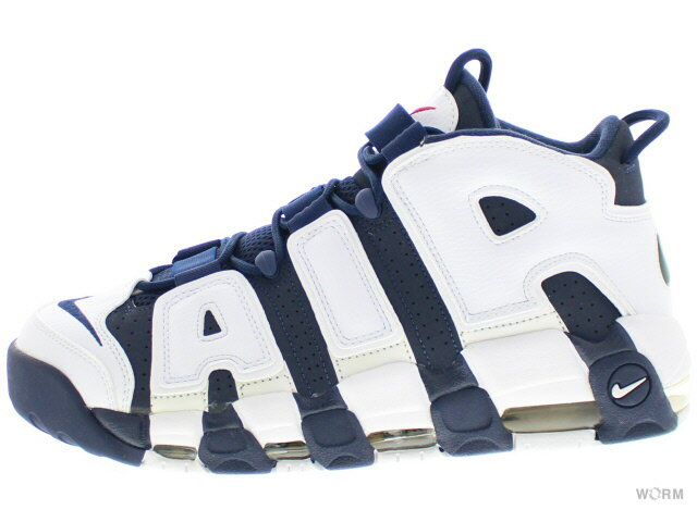 メンズ靴, スニーカー NIKE AIR MORE UPTEMPO OLYMPIC 414962-401 mid navymid nvy-white-sprt rd