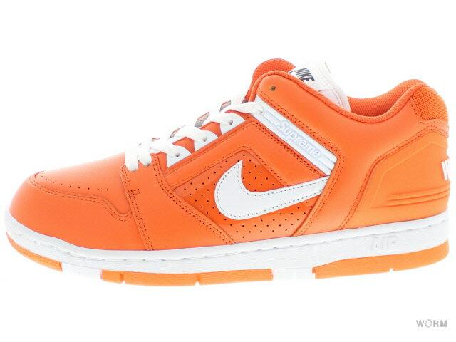 メンズ靴, スニーカー NIKE SB AF2 LOW Supreme aa0871-818 orange blazewhite
