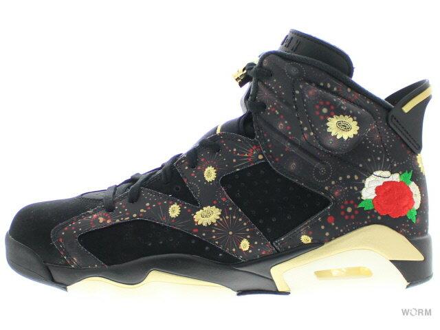 メンズ靴, スニーカー AIR JORDAN 6 RETRO CNY CHINESE NEW YEAR aa2492-021 noiror metallique
