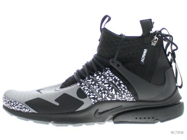 メンズ靴, スニーカー NIKE AIR PRESTO MID ACRONYM ah7832-001 cool greyblack