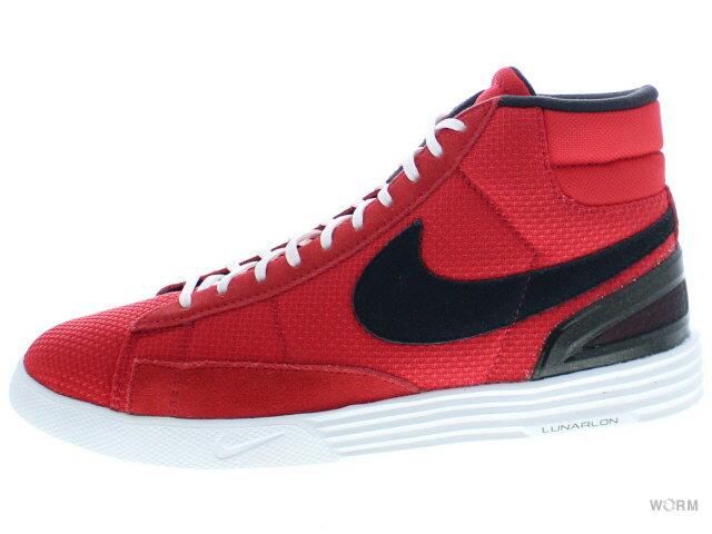 メンズ靴, スニーカー US8.5NIKE LUNAR BLAZER 555029-601 university redblack-white