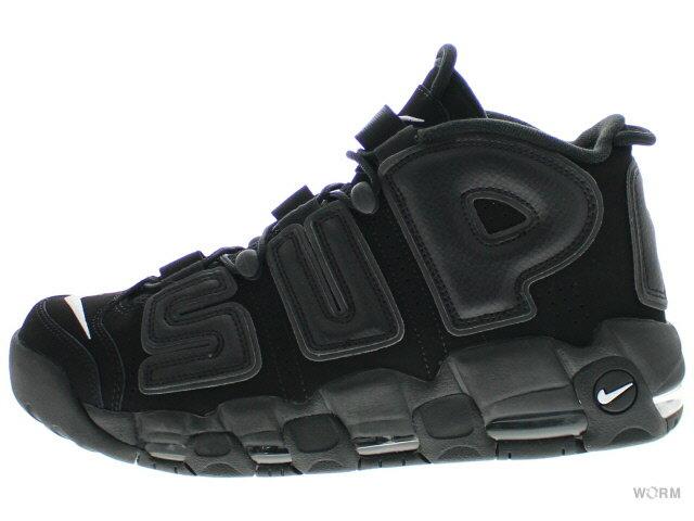 メンズ靴, スニーカー NIKE AIR MORE UPTEMPO Supreme 902290-001 blackblack-white