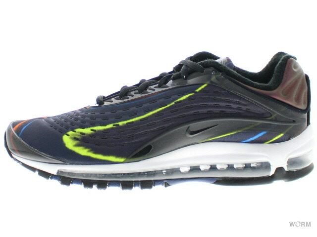 メンズ靴, スニーカー NIKE AIR MAX DELUXE aj7831-001 blackblack-midnight navy