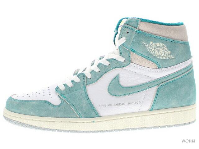 メンズ靴, スニーカー AIR JORDAN 1 RETRO HIGH OG 555088-311 turbo greensail-white