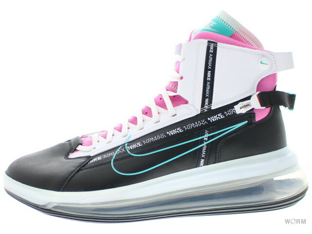 メンズ靴, スニーカー NIKE AIR MAX 720 SATRN ao2110-002 blackhyper jade-white