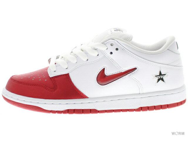 メンズ靴, スニーカー NIKE SB DUNK LOW OG QS Supreme ck3480-600 varsity redvarsity red-white