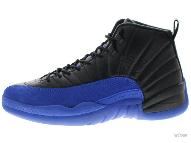 メンズ靴, スニーカー AIR JORDAN 12 RETRO 130690-014 blackgame royal-black