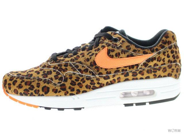 メンズ靴, スニーカー NIKE AIR MAX 1 DLX ANIMAL 3.0 aq0928-901 multi-colortotal orange-white