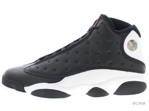 メンズ靴, スニーカー AIR JORDAN 13 RETRO REVERSE HE GOT GAME 414571-061 blackgym red-white
