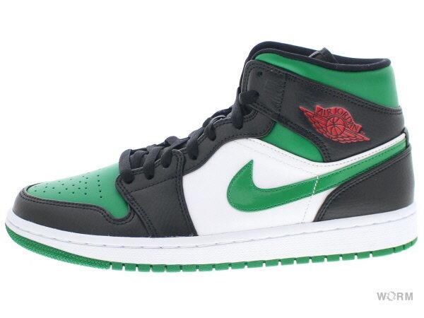 メンズ靴, スニーカー AIR JORDAN 1 MID 554724-067 blackpine green-white-gym red