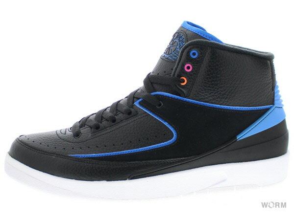 メンズ靴, スニーカー AIR JORDAN 2 RETRO 834274-014 blackphoto blue-white-fr pink