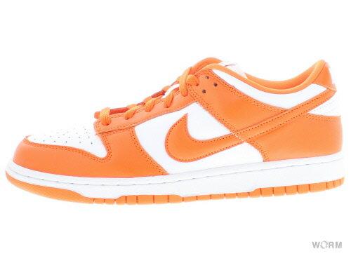 メンズ靴, スニーカー NIKE DUNK LOW SP SYRACUSE cu1726-101 whiteorange blaze